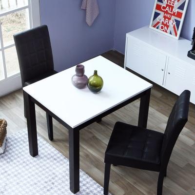 [리비니아]고광택 하이그로시 스퀘어 2인용 식탁세트