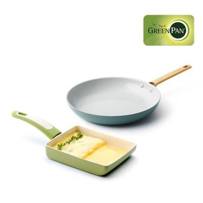 그린팬 2종세트/파도바 28팬+포커스 계란말이팬