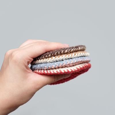 크래커 양면 컵받침 (동영상 포함) - 코바늘 키트