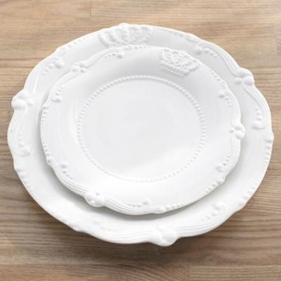 크라운 접시(소) 접시 그릇 용기 주방