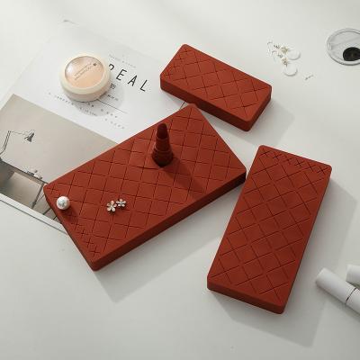 립스틱 정리함 화장대 꾸미기 빗꽂이 브러쉬 보관함