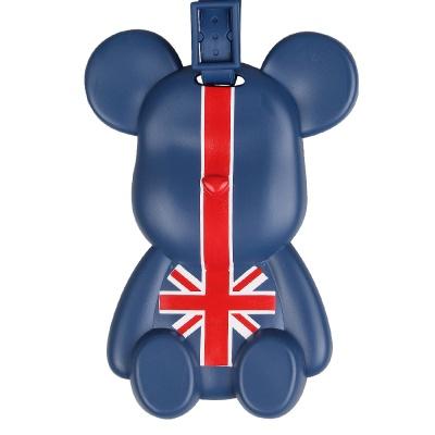 포포베 여행가방 캐릭터 네임택 - 영국베어