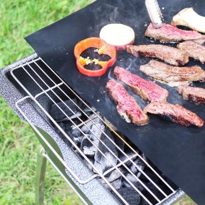 아파트32(APT32) BBQ 캠핑 그릴 매트 1매/ 바베큐 매트
