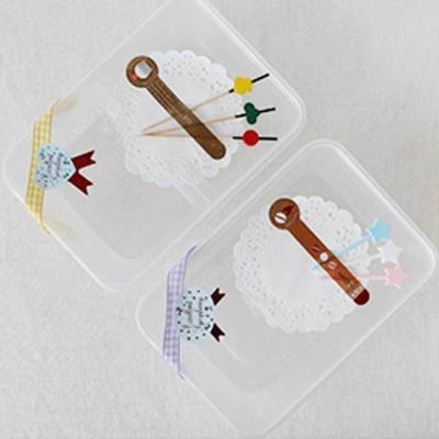 유치원 소풍 피크닉 샌드위치 포장 일회용 용기