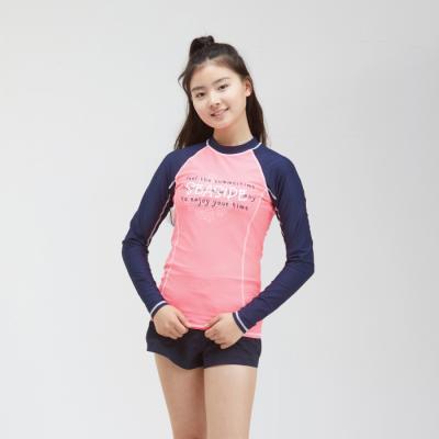 여아동 래쉬가드 수영복 상의 단품 KJ-K500