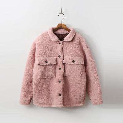 Teddy Bear Jacket - 누빔안감