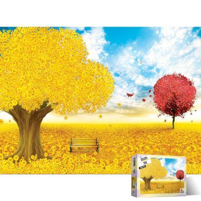1000피스 직소퍼즐 황금 나무 AL3012