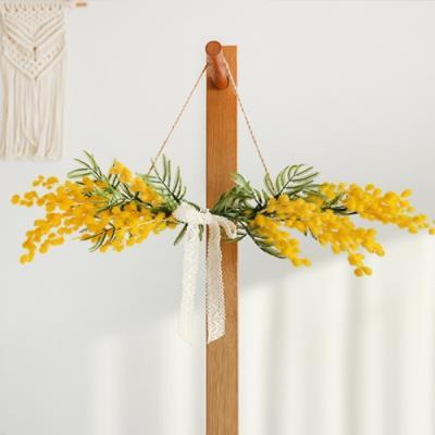 금전운 미모사 조화 가랜드 꽃 식물 행잉 플랜트 장식