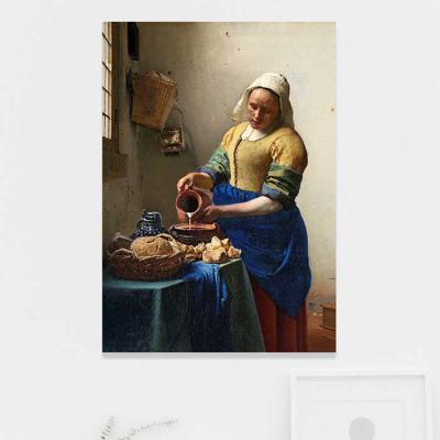 주문제작 액자 Vermeer The Milkmaid 594x841x30mm