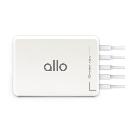 알로코리아 5포트 업무용 멀티충전기 UC401 USB멀티탭