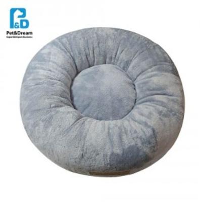 반려동물 페로가토 원형방석 블루그레이