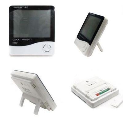 가정집 사무실 선반 탁상용 대화면 디지털 온습도계
