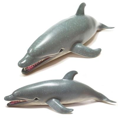 소프트 해양 (중) 돌고래 모형 피규어 교육용 완구