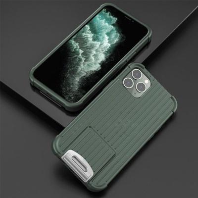 아이폰12 PRO MAX MINI 메탈릭 캐리어 실리콘 케이스