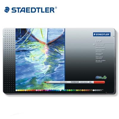 스테들러 전문가용 수채색연필 48색/125M48