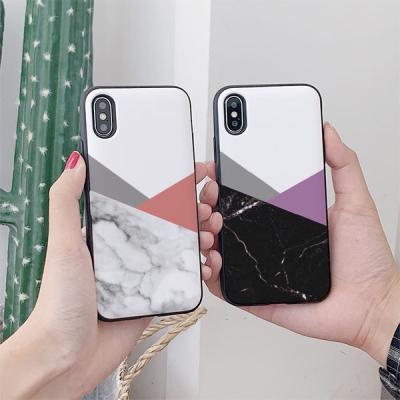아이폰8 Marble 카드케이스