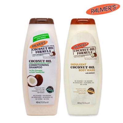 [파머스] 코코넛오일 샴푸&바디워시 2종세트