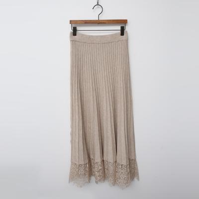 Lace Knit Long Skirt