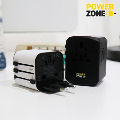 [파워존] 트래블어댑터 여행용 멀티탭 USB 4포트 해외