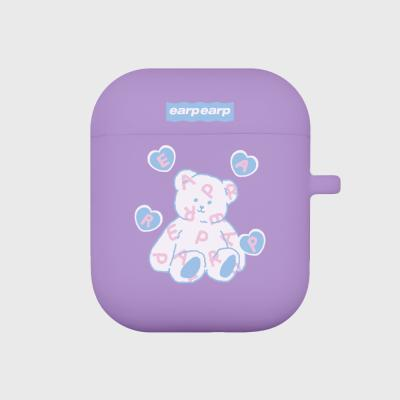 Soft bear-purple(Air pods)