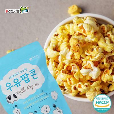 충주 내포긴들마을 바삭하고 고소한 우유팝콘 60gx3봉