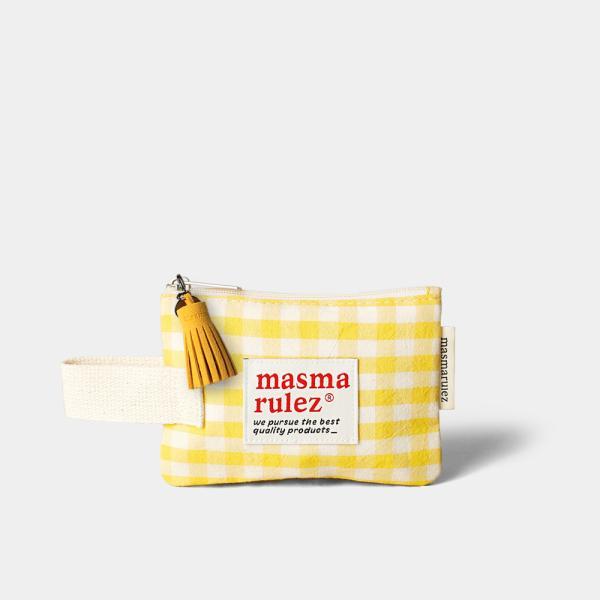 마약 스트랩 파우치 스프링 미니 _ Yellow