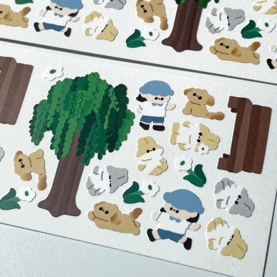 버드나무 스티커