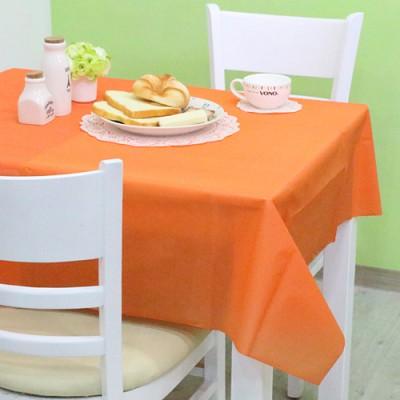 칼라 비닐 테이블보-오렌지(1매입)