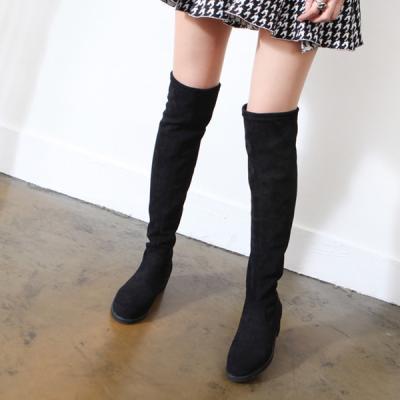여성 스타킹 기모 롱부츠 4cm