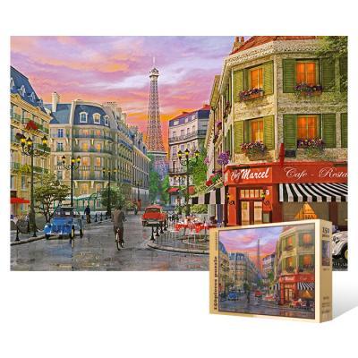150피스 직소퍼즐 - 파리 비오는 날의 풍경