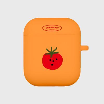 refreshing tomato 에어팟 케이스[orange]