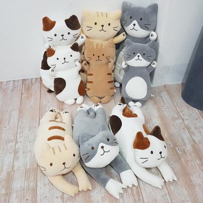 파베르 고양이 인형 베개