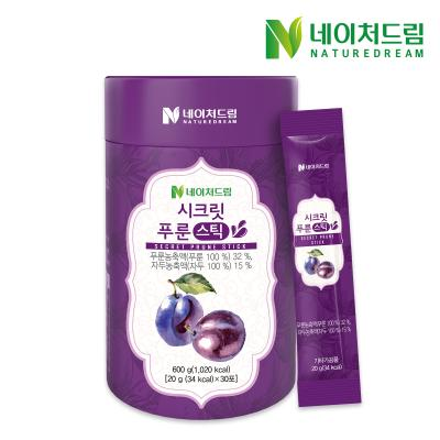 네이처드림 푸룬농축액 시크릿 푸룬 스틱 20g x 30포