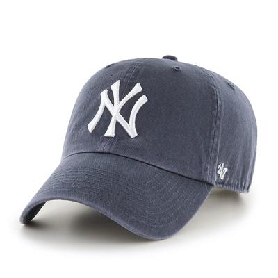 47브랜드 MLB모자 뉴욕 양키즈 네이비 빈티지 (인기)