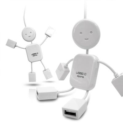 플라이토 아이맨 USB허브 4포트 JS-D10