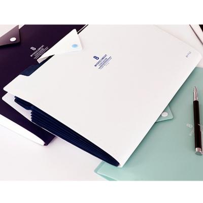 오피스 포켓 도큐먼트 파일(화이트) (8칸)