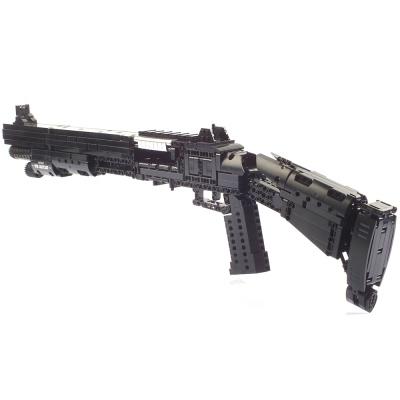 블록테크닉 베넬리M4 샷건 블럭총 작동블록 CBT240033