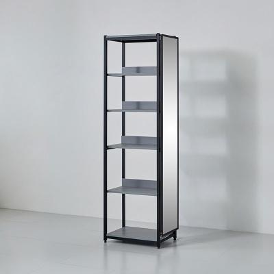카소 철제 드레스룸 600 선반 거울장