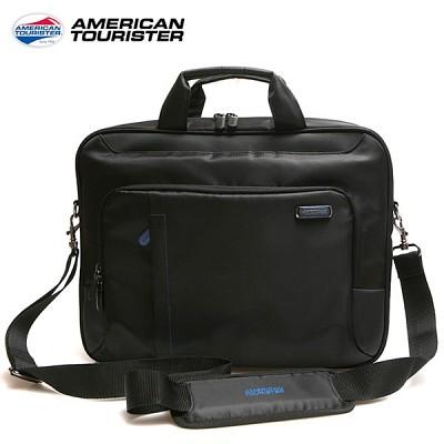 쌤소나이트 아메리칸투어리스터 스태커-노트북 M (블랙+블루)