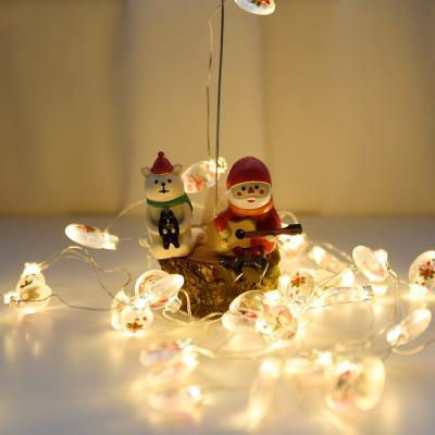LED 와이어 전구(산타의 장식)