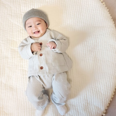 [유호랑]아기법복 아기동자승룩