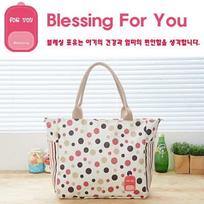 [블레싱포유 ] 보온 보냉 기저귀가방 - 숄더 Simple Line