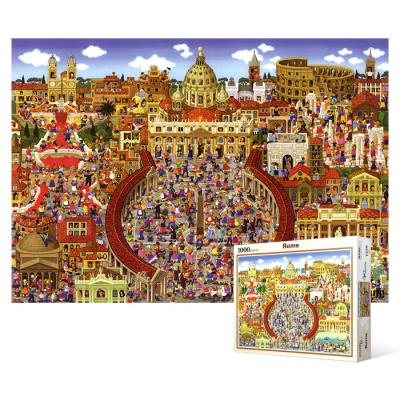 1000피스 직소퍼즐 - 로마 명소 컬렉션