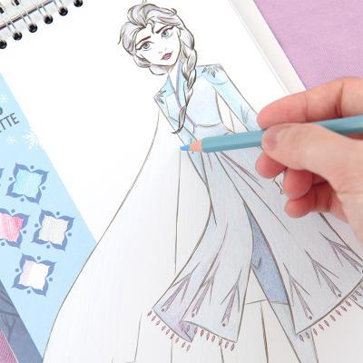 메이크잇리얼 겨울왕국2 패션디자인스케치북