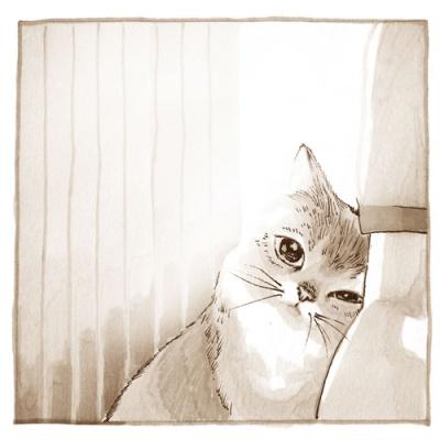 고양이삼촌 메모패드 - 제이와 나