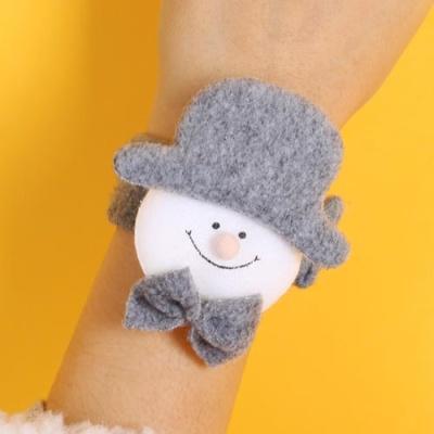 크리스마스 유러피안 인형팔찌 - 눈사람