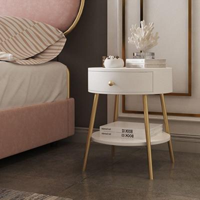 아파트32 홈 골드 철제 엘르 침대 협탁/ 사이드테이블