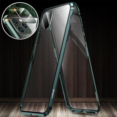 아이폰11 pro max 풀커버 카메라보호 자석 투명케이스