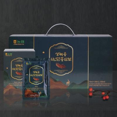 생녹용 6년근 홍삼보 농협 국내산 녹용 홍삼 액기스