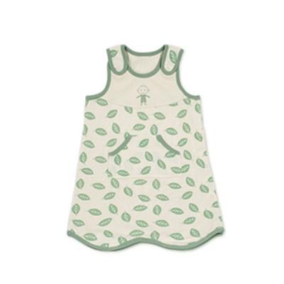 스윗하트 오가닉 나뭇잎 사이즈조절 수면조끼